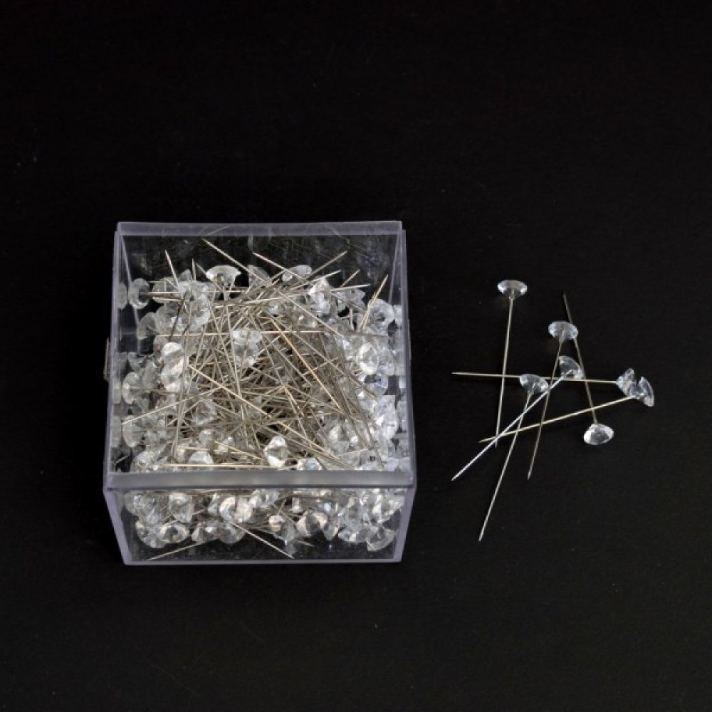 Accesorii mercerie Ac Cu Margea Plastic Diamant 300/Cutie