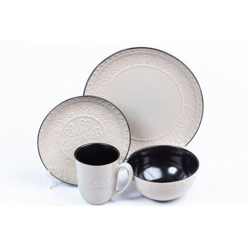 Bol Ceramica Grej Bd81