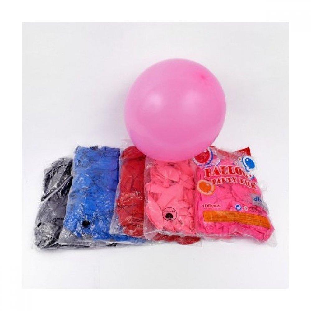Baloane colorate simple 100 buc/set