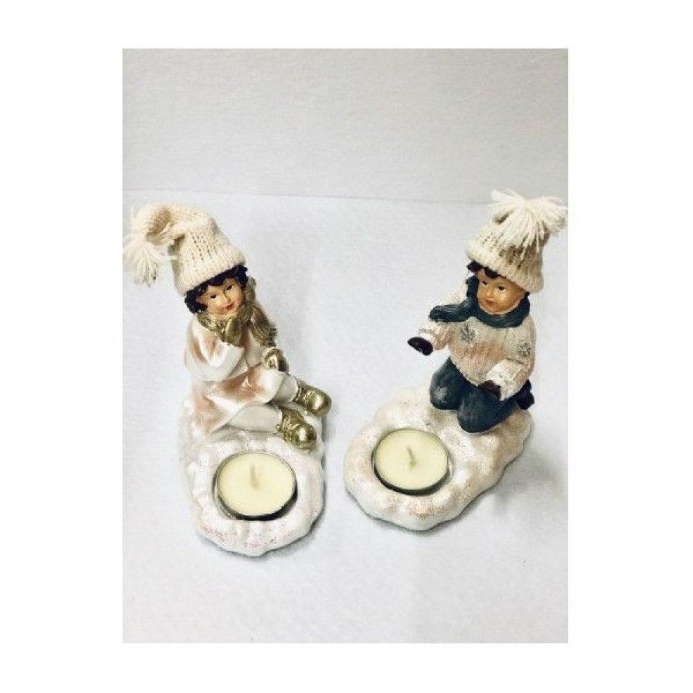 Cadouri Craciun decoratiune Bibelou Din Rasina Warming Children