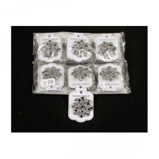 Brosa pentru aranjamente florale - Floricica dantelata