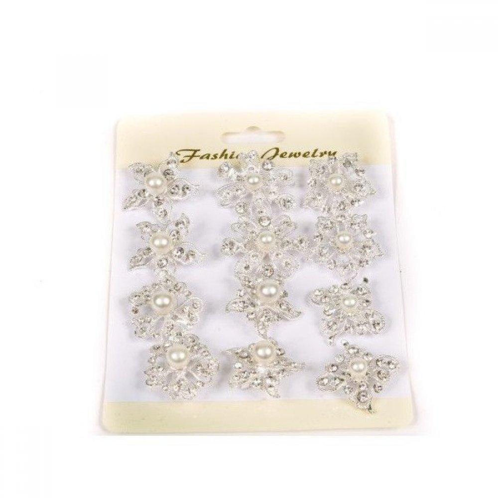 Brosa pentru aranjamente florale - Perla