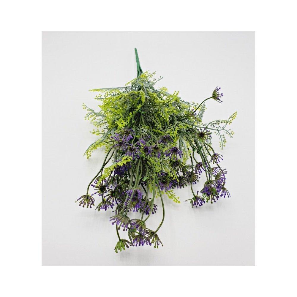Flori artificiale Buchet iarba 7 fire