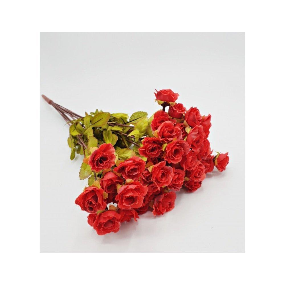 Flori artificiale Buchet mini trandafiri 16 fire