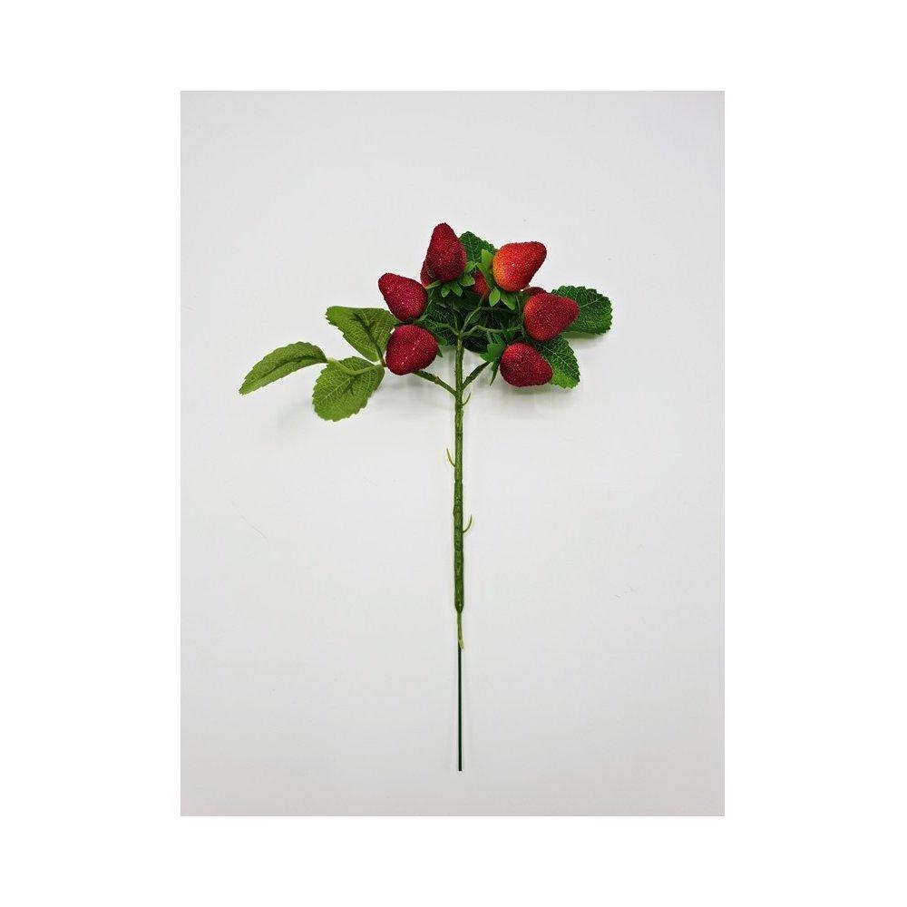 Flori artificiale model Capsuni fir