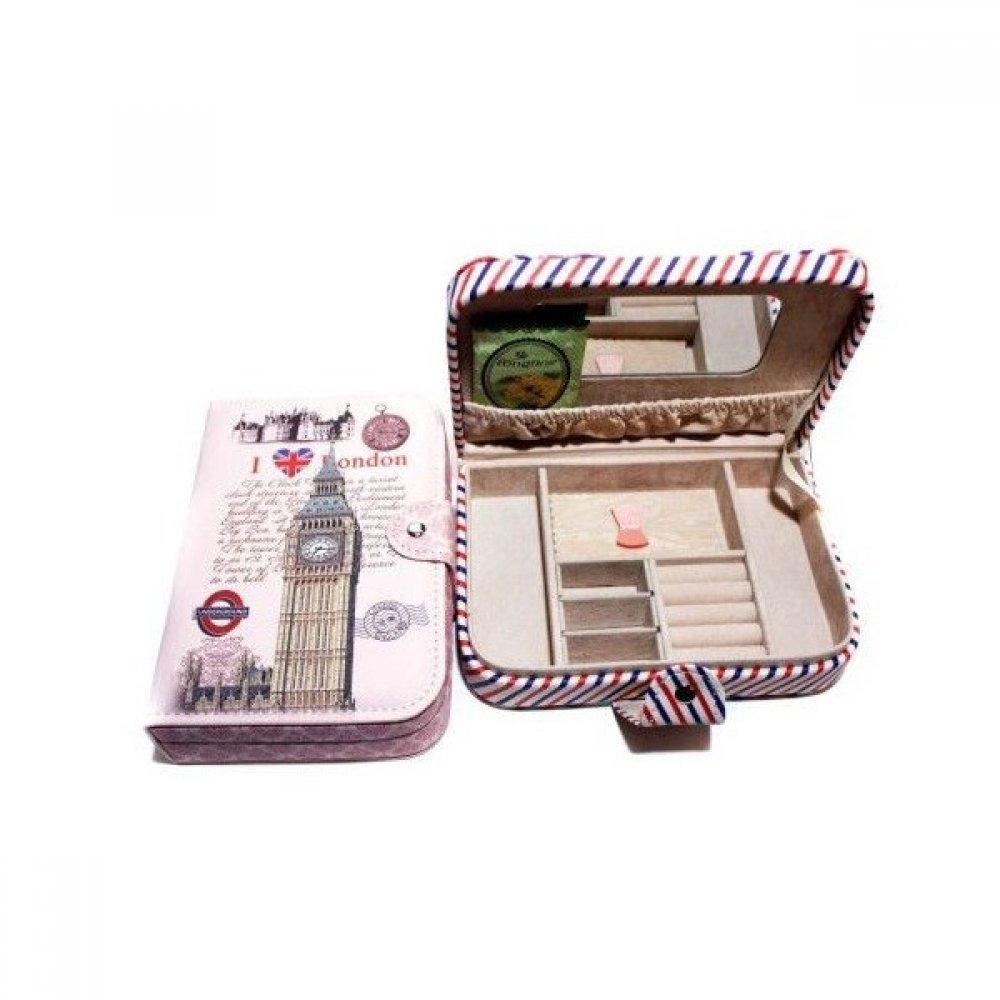 Casete Imitatie Piele Pentru Bijuterii Carte Book of London