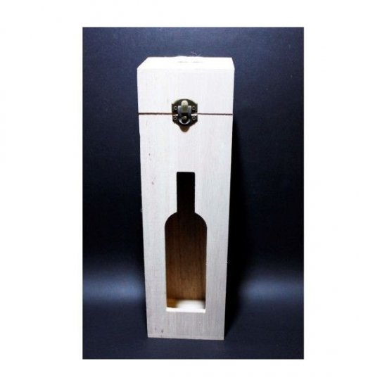 Casete Lemn Blanc Pentru Sticle de vin
