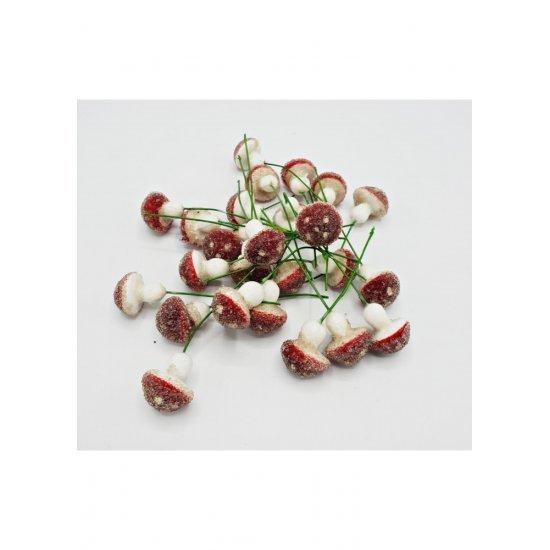 Decoratiuni pentru ghivecele de flori - Ciupercute
