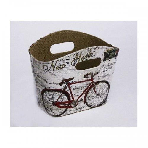 Cutie Pentru Flori Cos Din Pvc Oval Decor Bicicleta