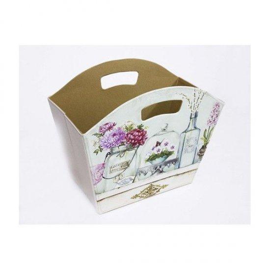 Cutie pentru flori model cos Din PVC Trapezoidal Decor Vaze Cu Flori