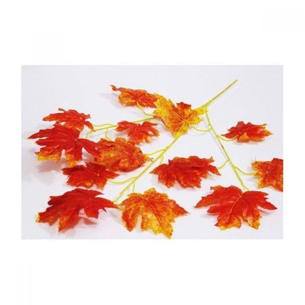 Crengi Frunze Stejar de Toamna Artificiale  12/Set
