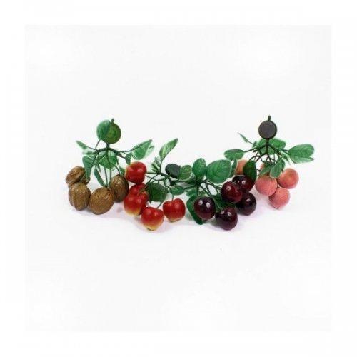 Decoratiuni casa model Crenguta Fructe Plastic Cu Magnet