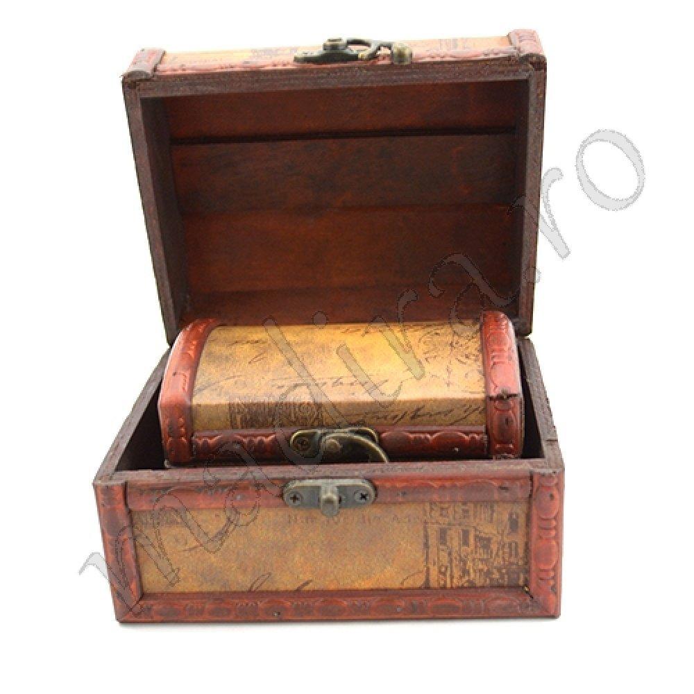 Cufere pentru bijuterii cu piele si imagini contemporane