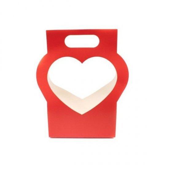 Cutie pentru flori model inima Open Heart