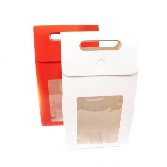 Cutii Din Carton Cu Fereastra Transparenta 15.8Cm/8.8Cm/27.8Cm