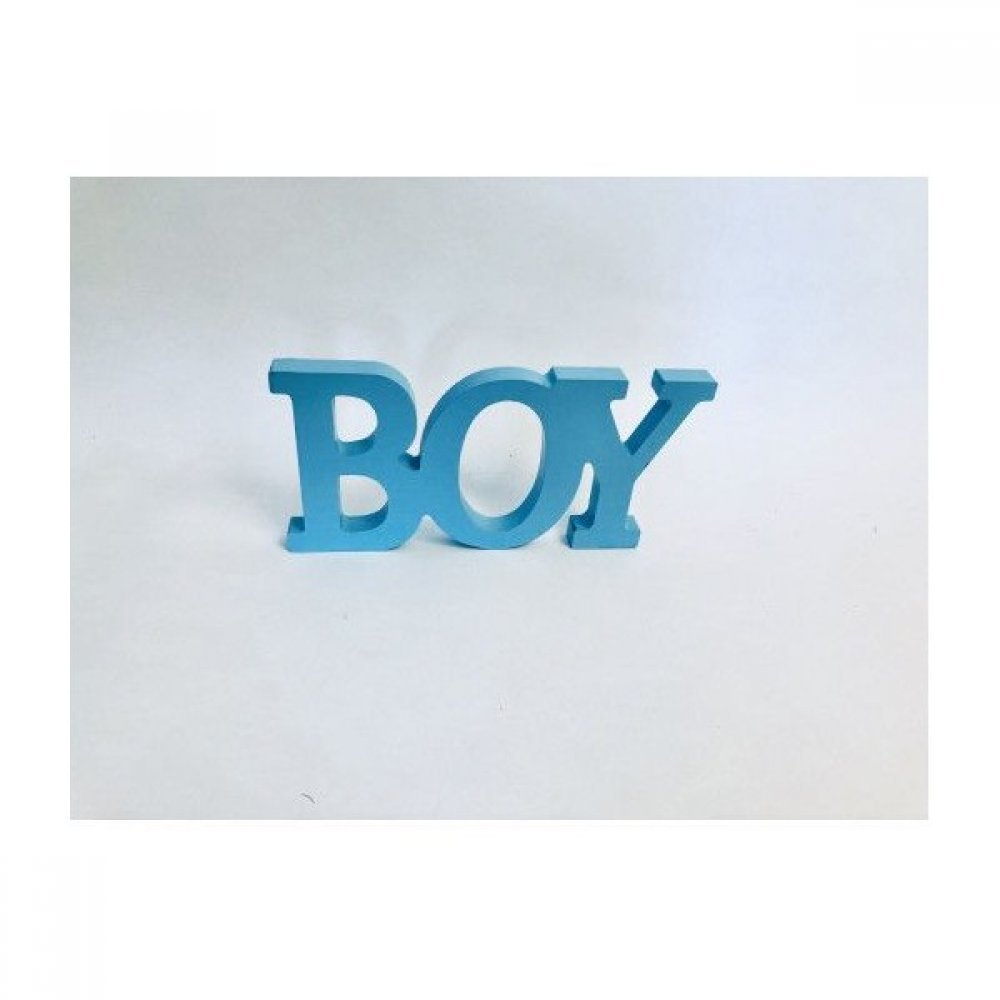 Decoratiune Litere 3D BOY