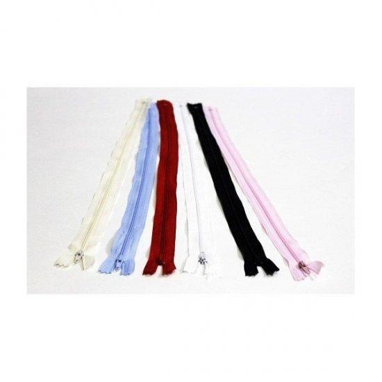 Fermoare colorate pentru croitorie 30 cm