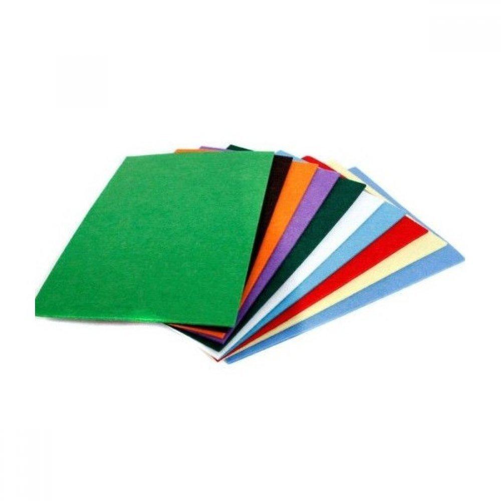 Fetru diverse culori A4 3 mm