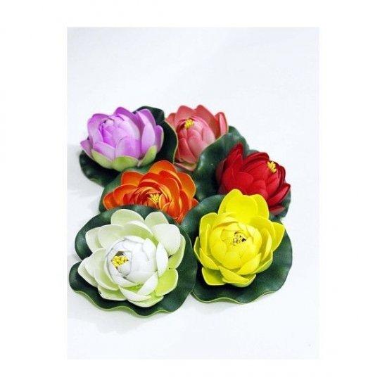 Flori ARtificiale Nuferi 10 Cm