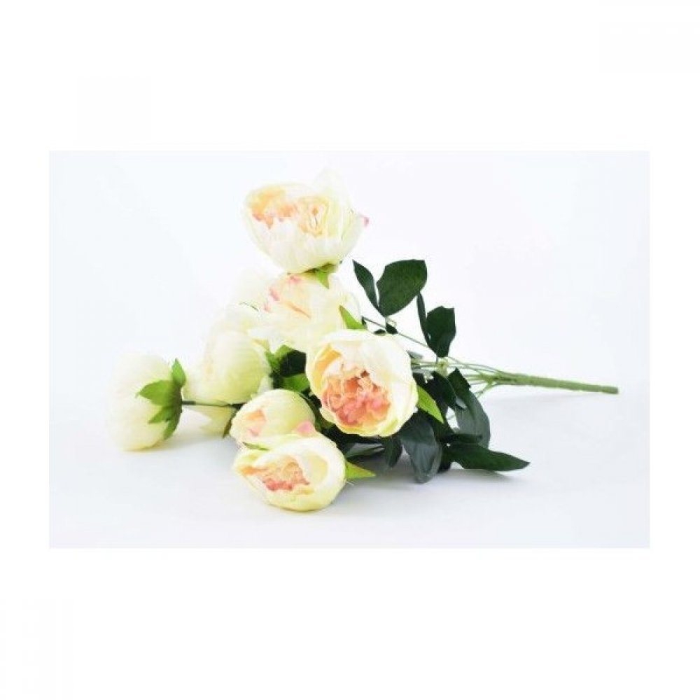 Flori Artificiale Buchet 10 Bujori 50Cm