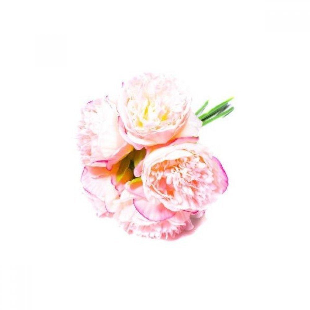 Flori Artificiale Buchet 5 Bujori