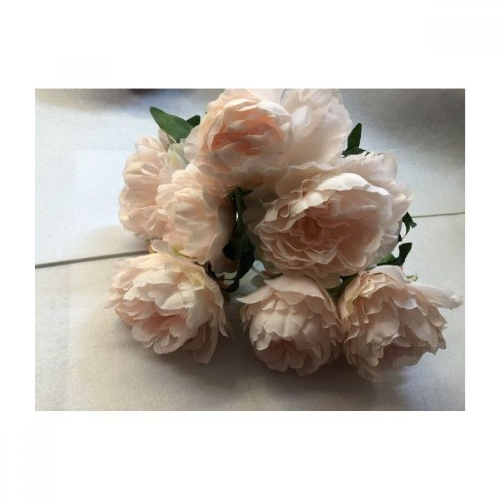 Flori Artificiale Buchet 7 Bujori Roz