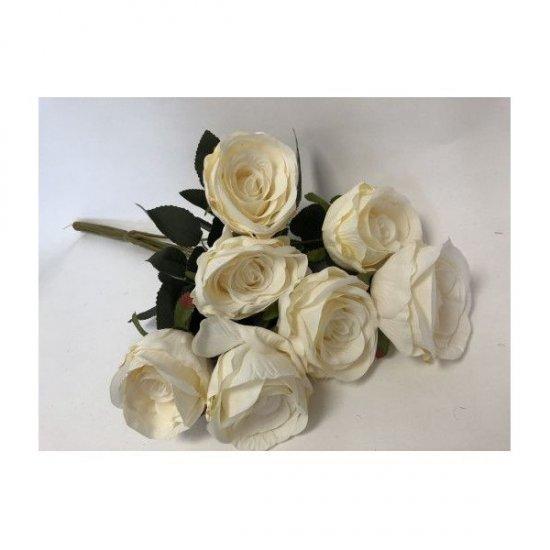 Flori Artificiale Buchet 7 Trandafir Usor Degrade