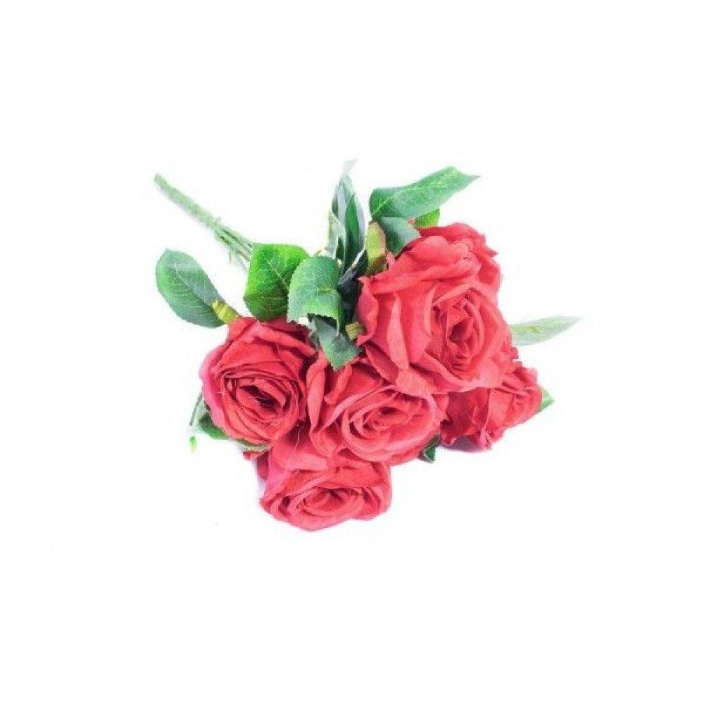 Flori Artificiale Buchet 7 Trandafiri