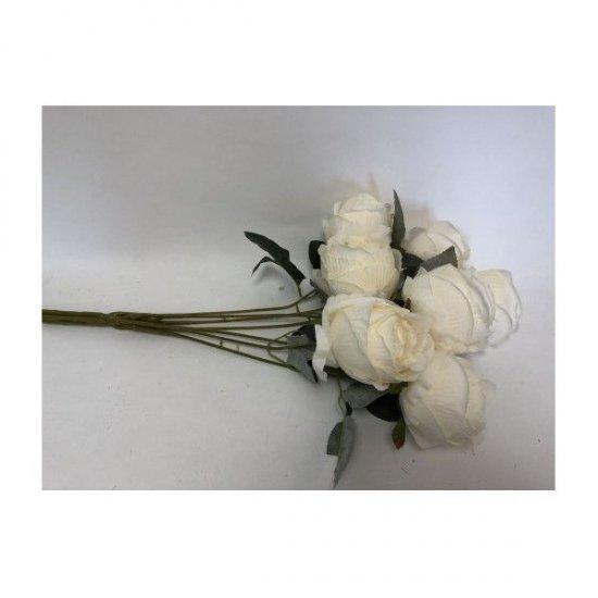 Flori Artificiale Buchet 7 Trandafiri Batuti