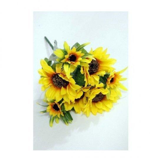 Flori Artificiale Buchet Floarea Soarelui
