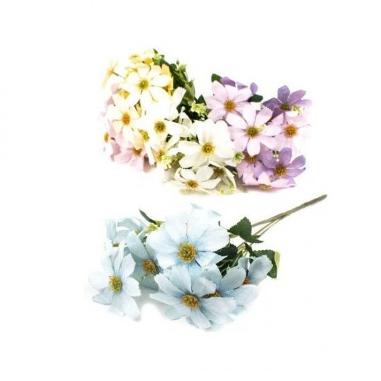Flori Artificiale Buchet Flori De Camp Mari