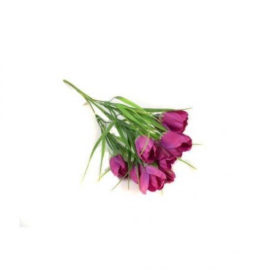 Flori Artificiale Buchet Lalele In Iarba