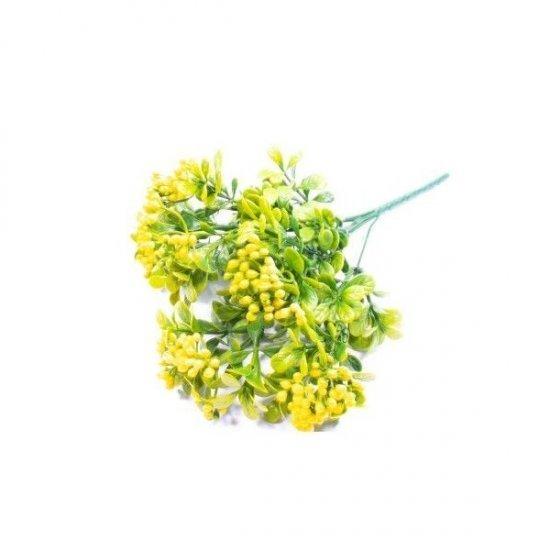 Flori Artificiale Buchet Merisor Cu Bobite