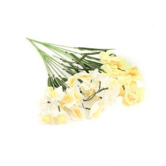 Flori Artificiale Buchet Narcise Galbene