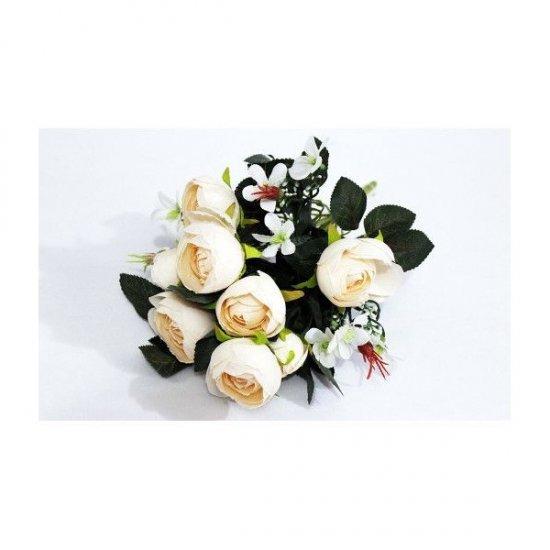 Flori Artificiale Buchet Ranunculus Bej