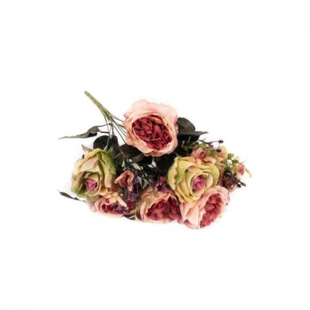 Flori Artificiale Buchet Trandafiri Degrade