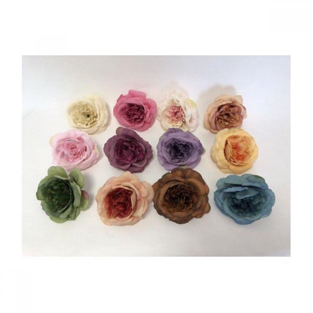 Flori Artificiale Capete Bujori Mari 30/set