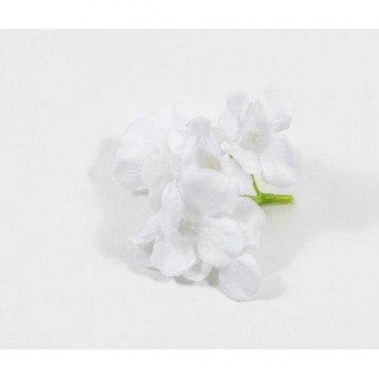 Flori Artificiale Capete Hortensii Albe 30/set