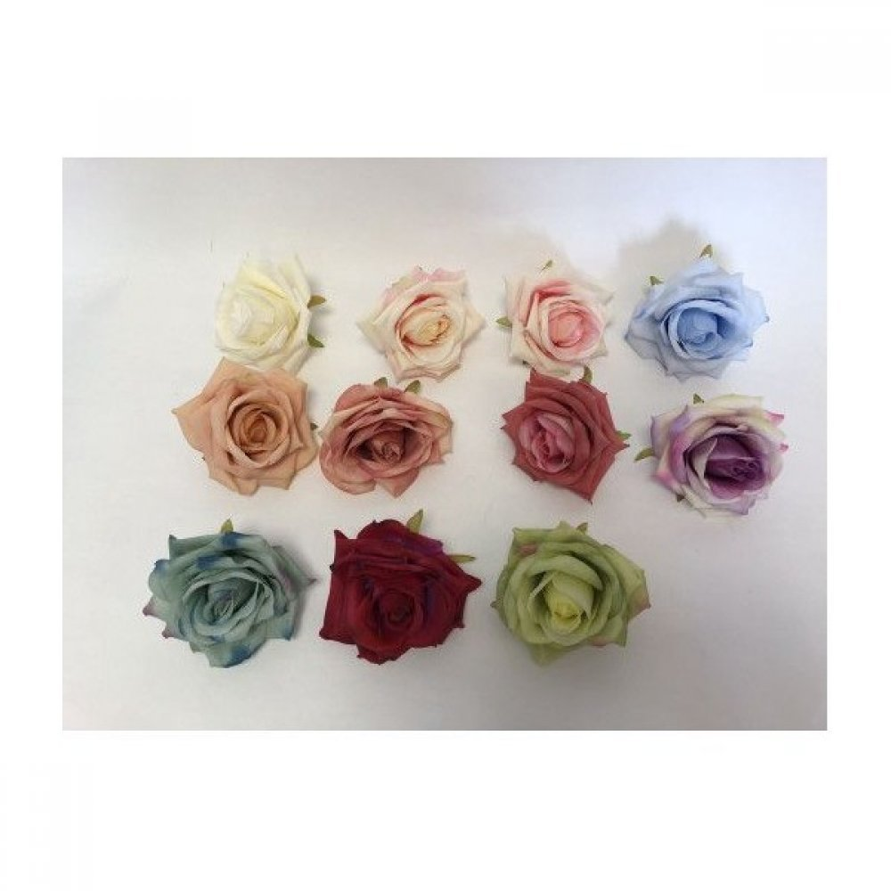 Flori Artificiale Capete Trandafiri Mari 30/set