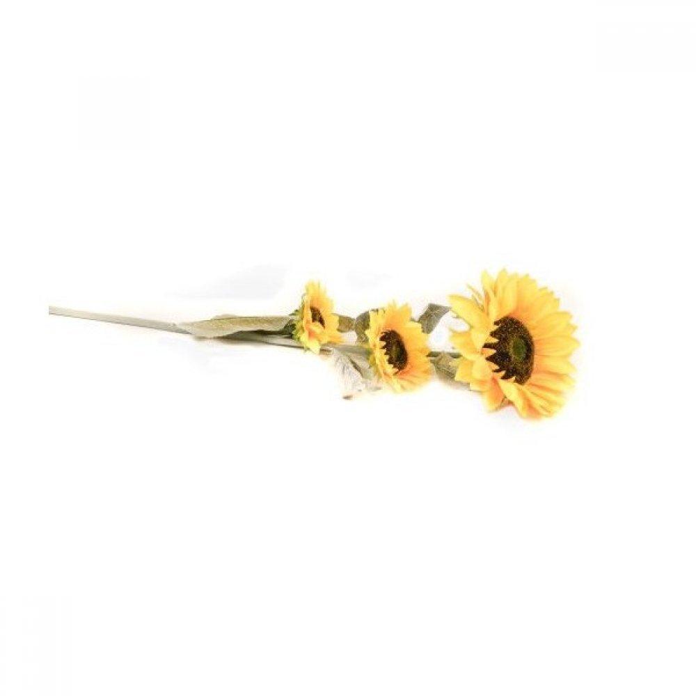 Flori Artificiale Floarea Soarelui Cu 3 Flori