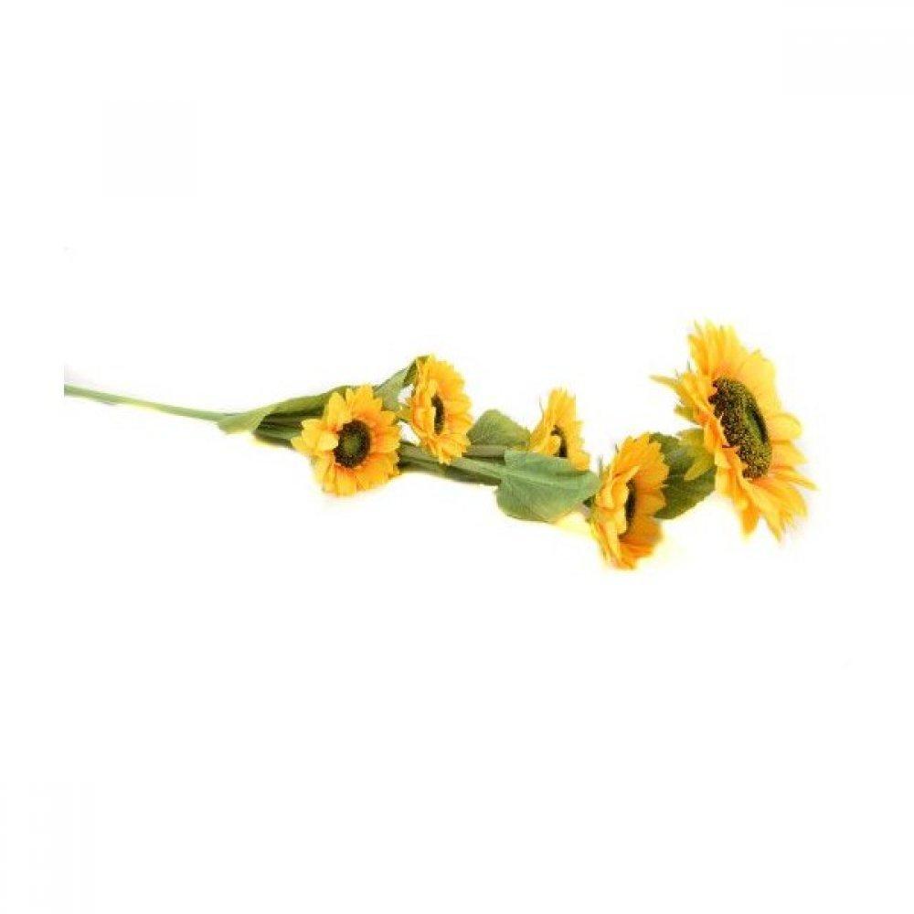 Flori Artificiale Floarea Soarelui Cu 5 Flori
