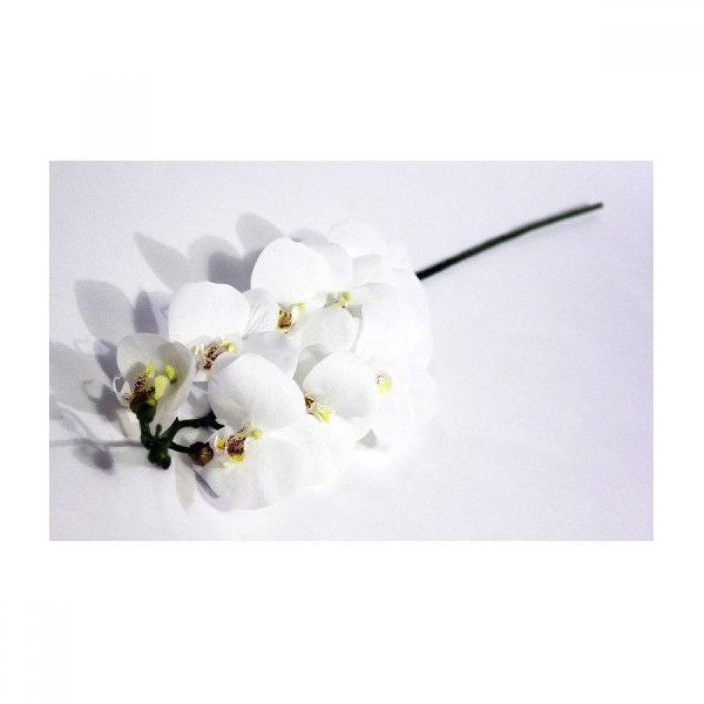 Flori Artificiale Orhidee Cauciucata Cu 9 Flori 100 Cm