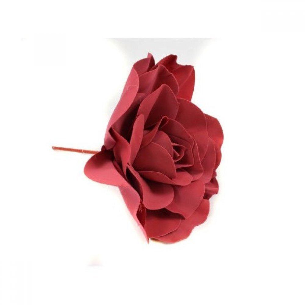 Flori Artificiale Trandafir 40cm Latex Grena