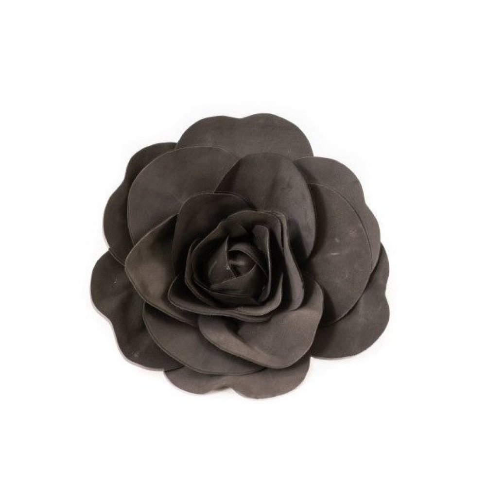 Flori Artificiale Trandafir 50cm Latex Negru