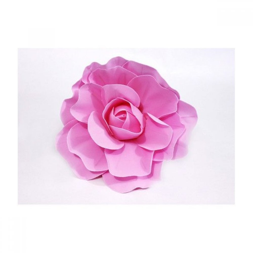 Flori Artificiale Trandafir 50cm Latex Roz