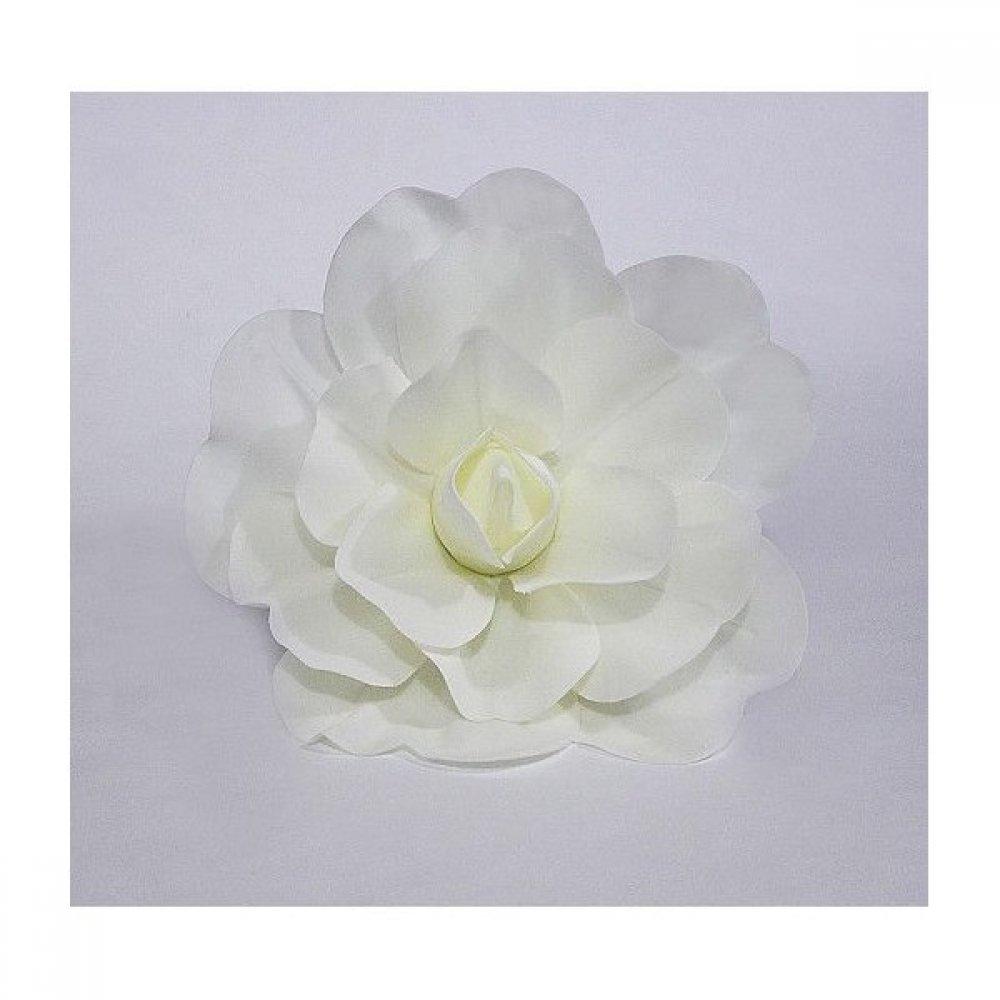 Flori Artificiale Trandafir 60cm Latex Crem