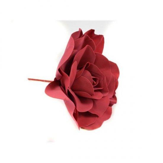 Flori Artificiale Trandafir Latex 30cm Grena