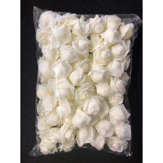 Flori Artificiale Trandafiri Latex 100/set diam 5cm