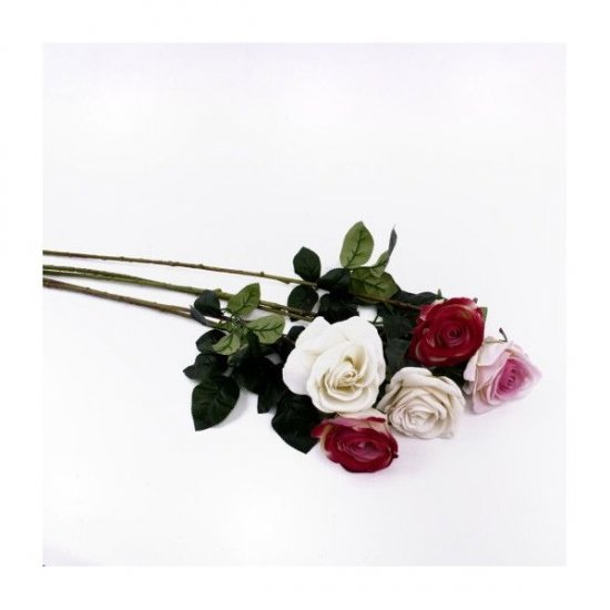Flori artificiale Fir De Trandafir cu 1 floare