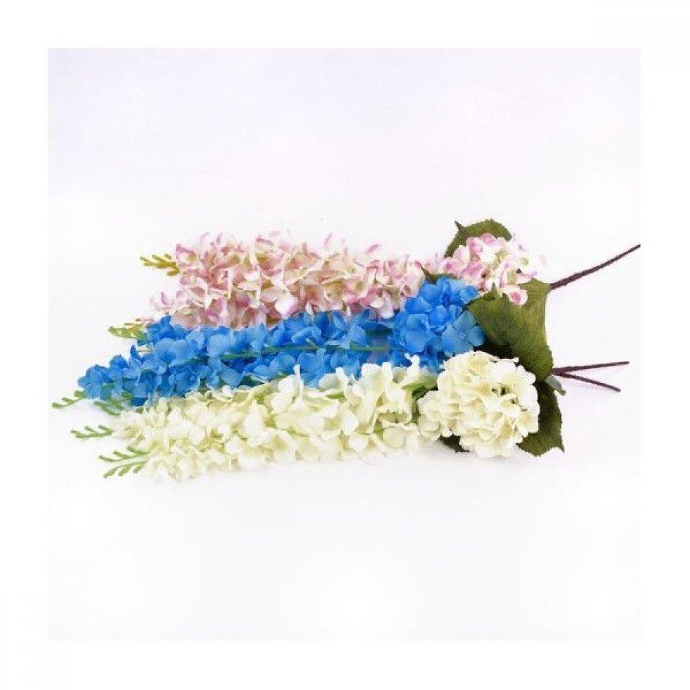 Flori artificiale Hortensie cu 4 ghirlande de flori